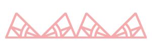 Motif rose atelier albert pointant vers le haut