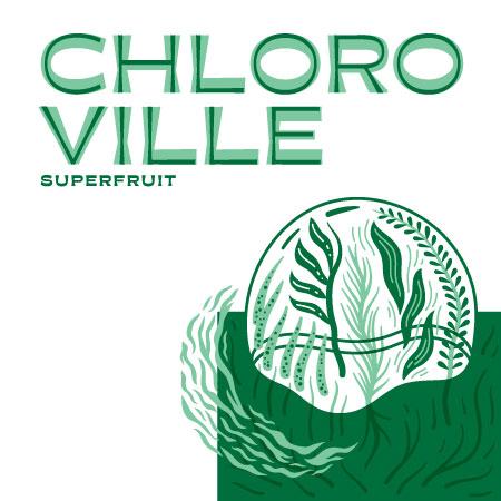 """""""Chloroville"""" collection de sérigraphies sur le thème de l'urbain et des plantes"""