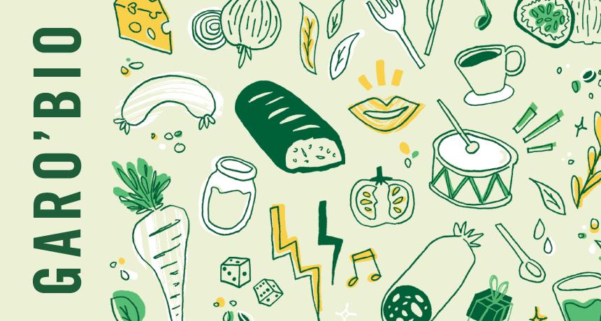 Garo'Bio 2020 : nos illustrations remettent le couvert !