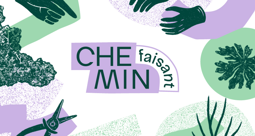 Thumbnail de la news de blog appliquant la charte graphique de Chemin Faisant conçue par Superfruit