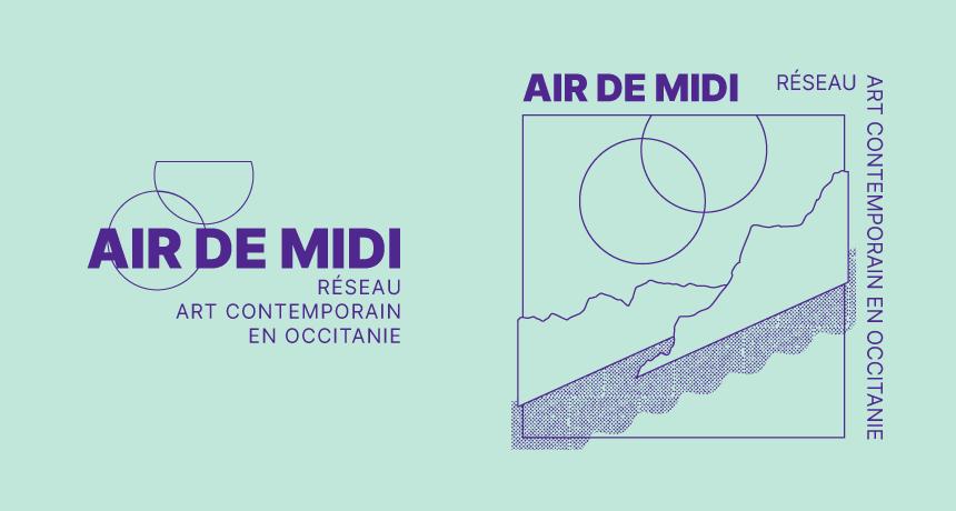Présentation de la refonte d'identité proposée pour Air de Midi par Superfruit