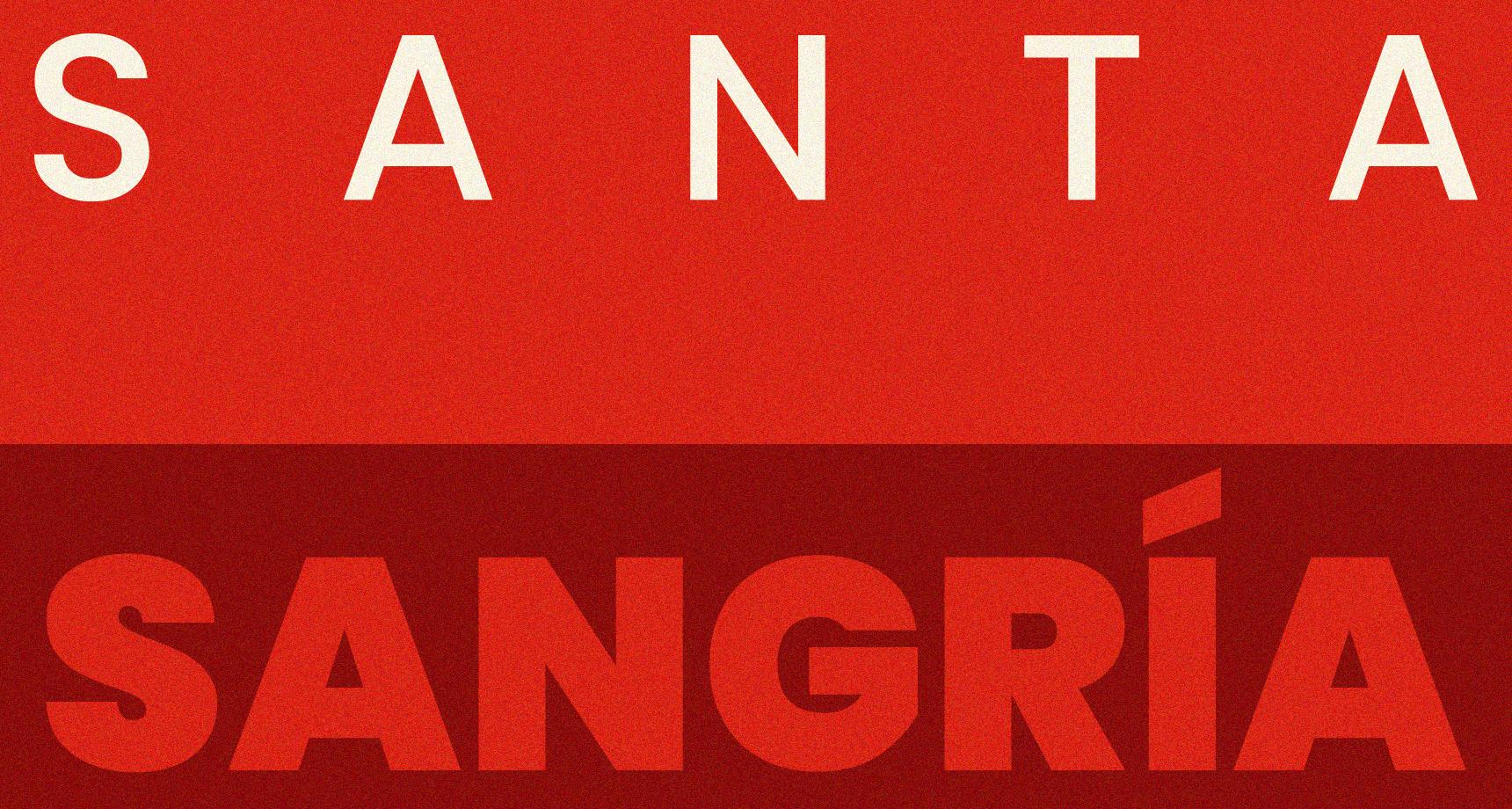 Court-métrage Santa Sangria : création d'un générique de fin